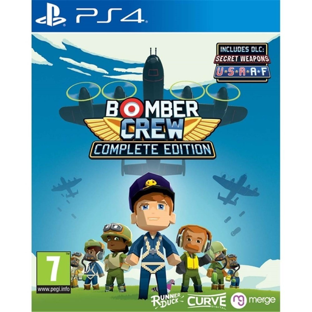 BOMBER CREW COMPLETE PS4 PAL FR NEW
