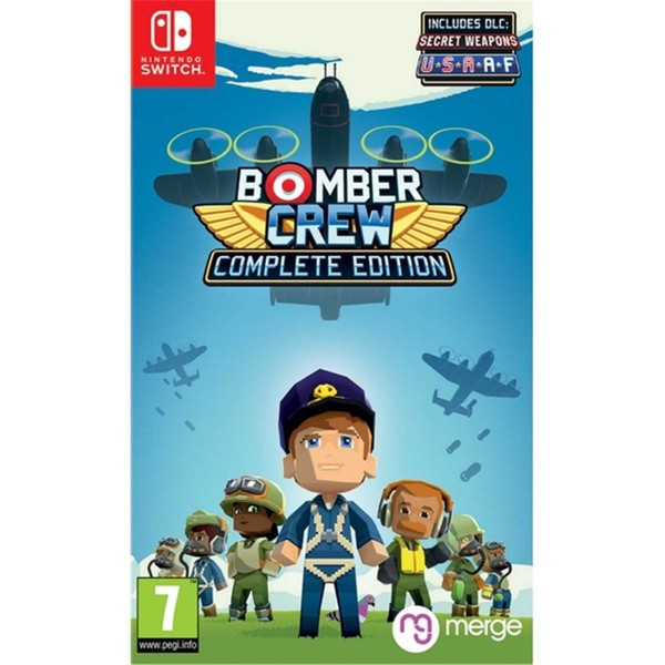 BOMBER CREW COMPLETE SWITCH PAL FR NEW