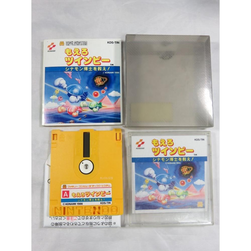 MOERO TWINBEE DISK SYSTEM NTSC-JPN OCCASION