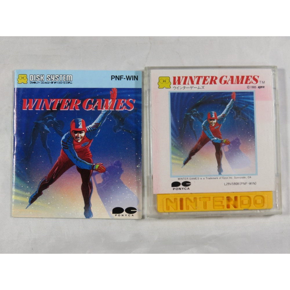 WINTER GAMES DISK SYSTEM NTSC-JPN OCCASION