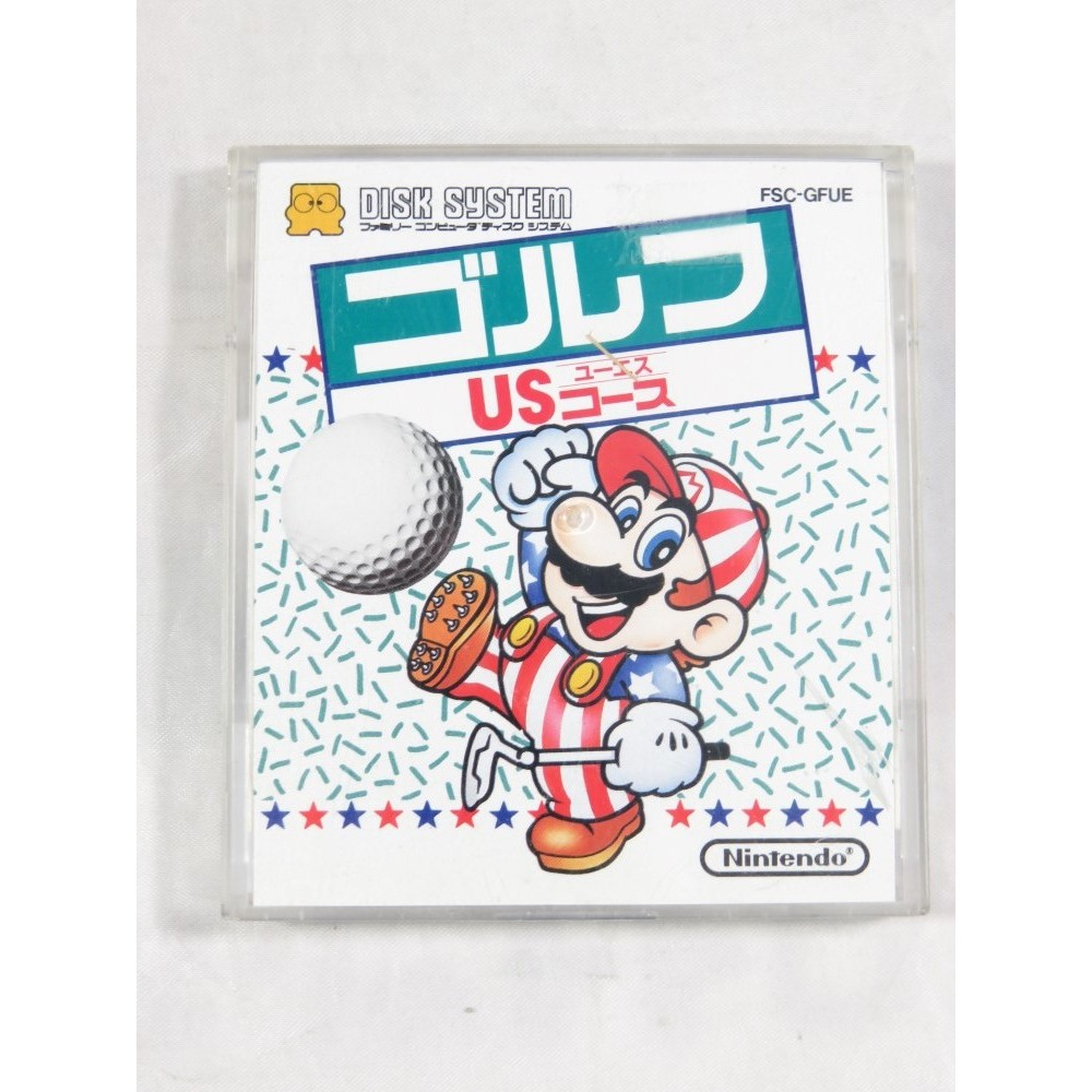 FAMICOM GOLF US COURSE DISK SYSTEM NTSC-JPN OCCASION