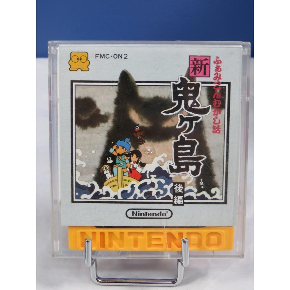 MUKASHI BANASHI SHIN ONI GA SHIMA 2 DISK SYSTEM NTSC-JPN OCCASION