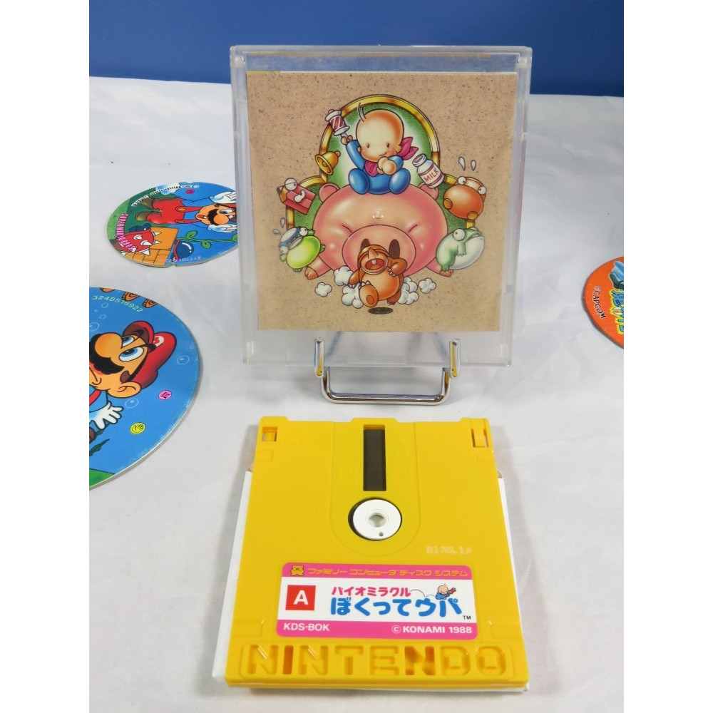 BIO MIRACLE BOKUTTE UPA DISK SYSTEM NTSC-JPN OCCASION (SANS NOTICE)