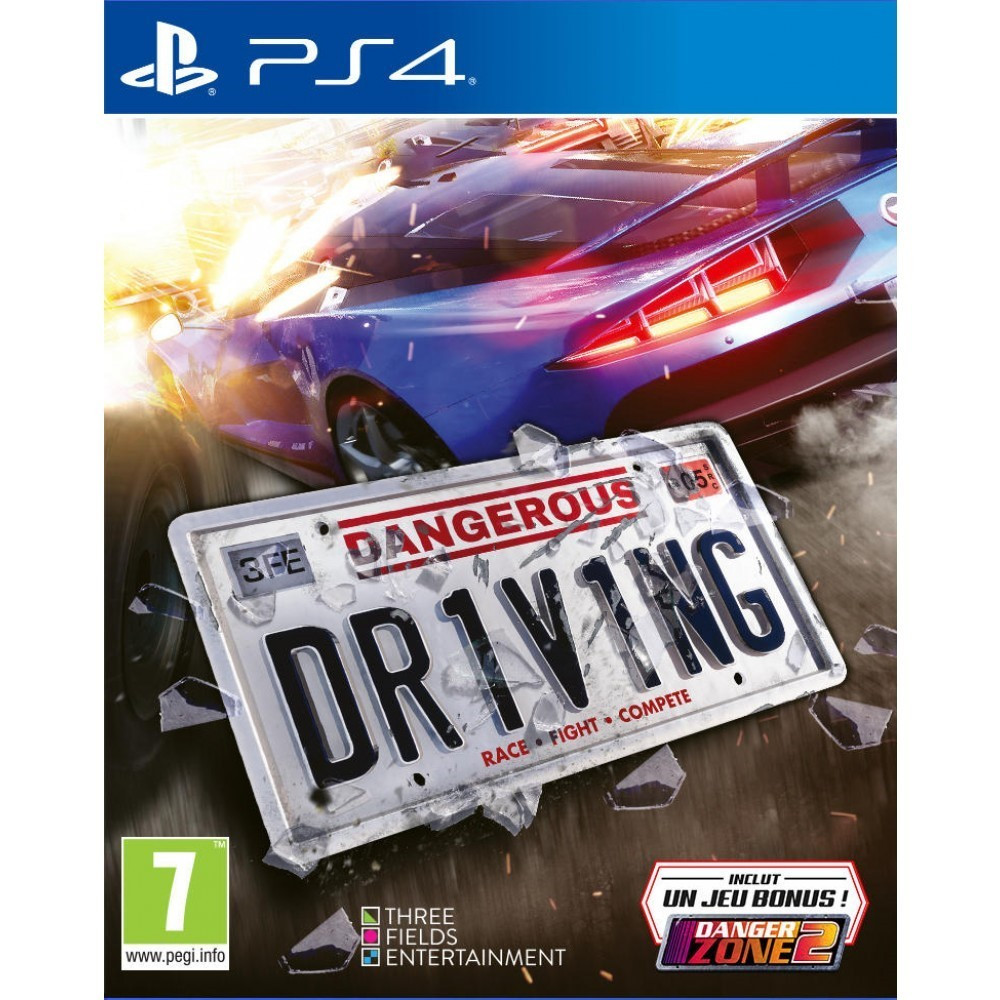 DANGEROUS DRIVING PS4 FR OCCASION