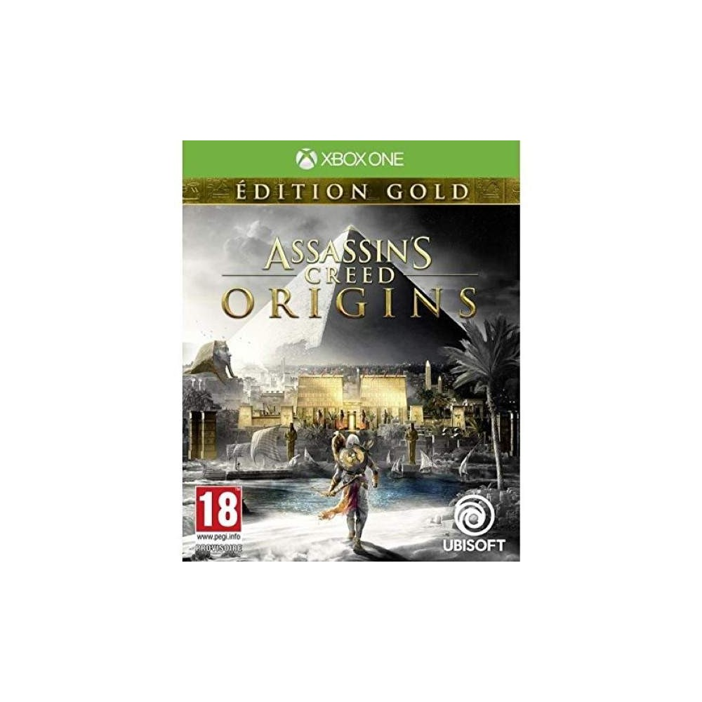 ASSASSIN S CREED ORIGINS GOLD XBOX ONE FR OCCASION