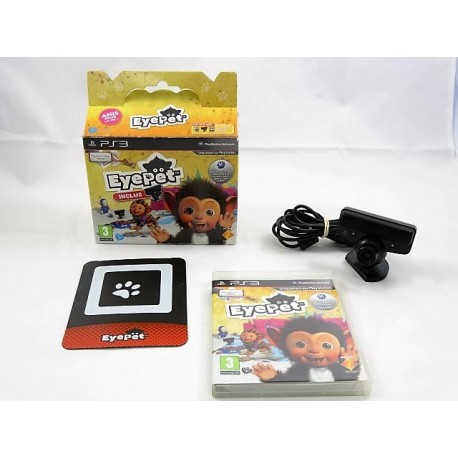 EYEPET PLAYSTATION EYE INCLUS PS3 FR OCCASION