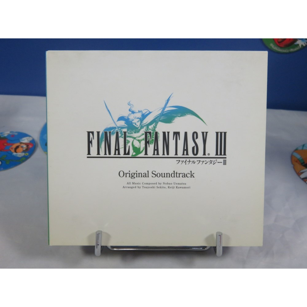 OST FINAL FANTASY III ORIGINAL SOUNDTRACK SQUARE ENIX 2006 JPN OCCASION