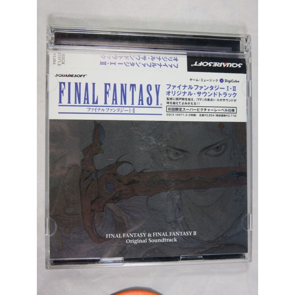 OST FINAL FANTASY I & II ORIGINAL SOUNDTRACK SQUARESOFT 2002 JPN OCCASION