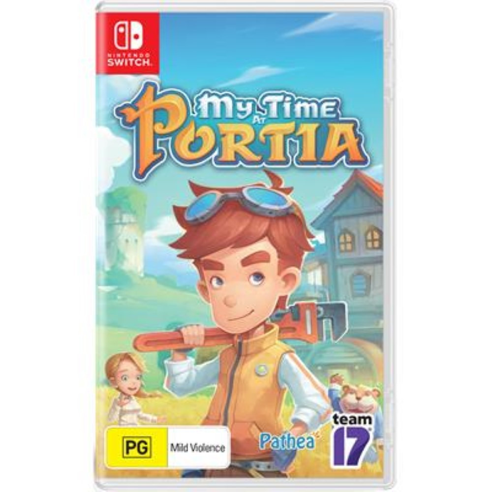 MY TIME AT PORTIA SWITCH PAL FR NEW
