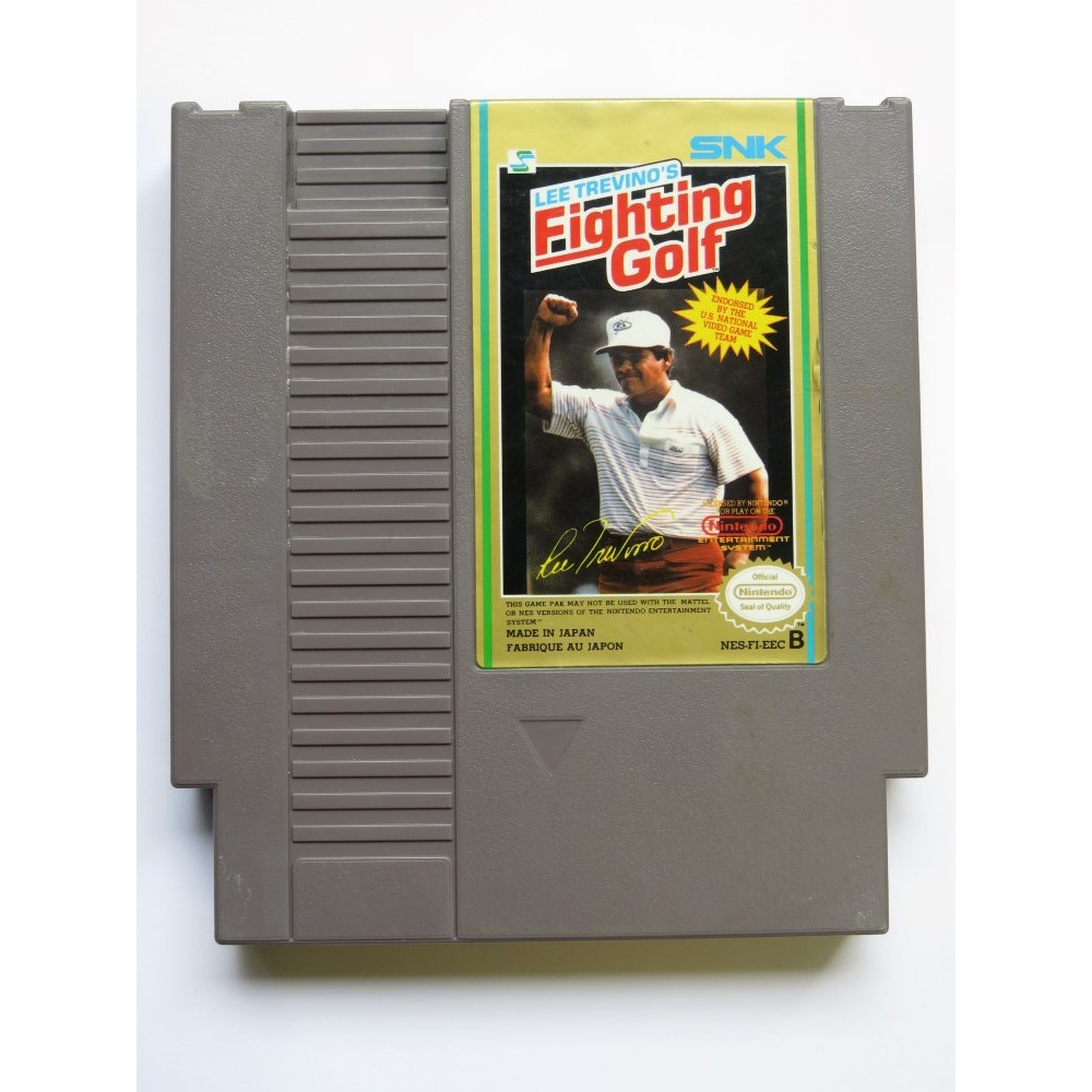 LEE TREVINO S FIGHTING GOLF NINTENDO NES PAL-B EUR (CARTRIDGE ONLY - GOOD CONDITION)