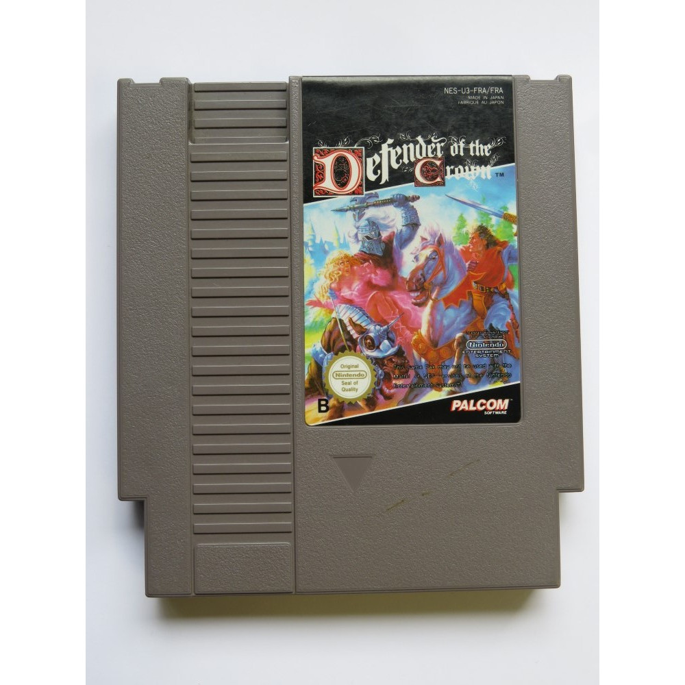 DEFENDER OF THE CROWN NES PAL-B FRA LOOSE
