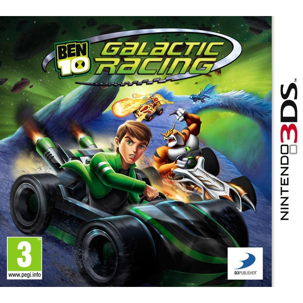 BEN 10 GALACTIC RACING 3DS FR OCCASION