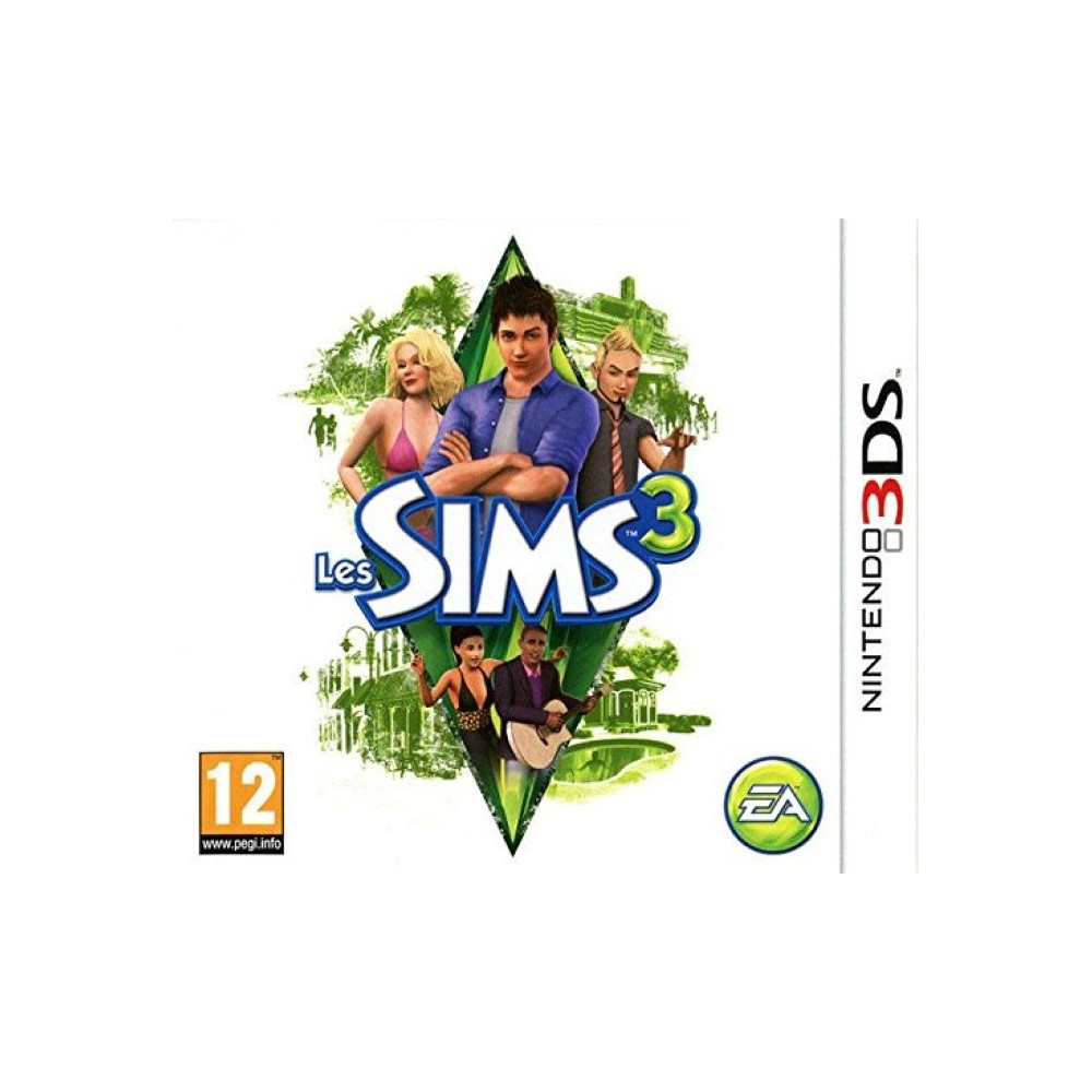 LES SIMS 3 3DS FR OCCASION