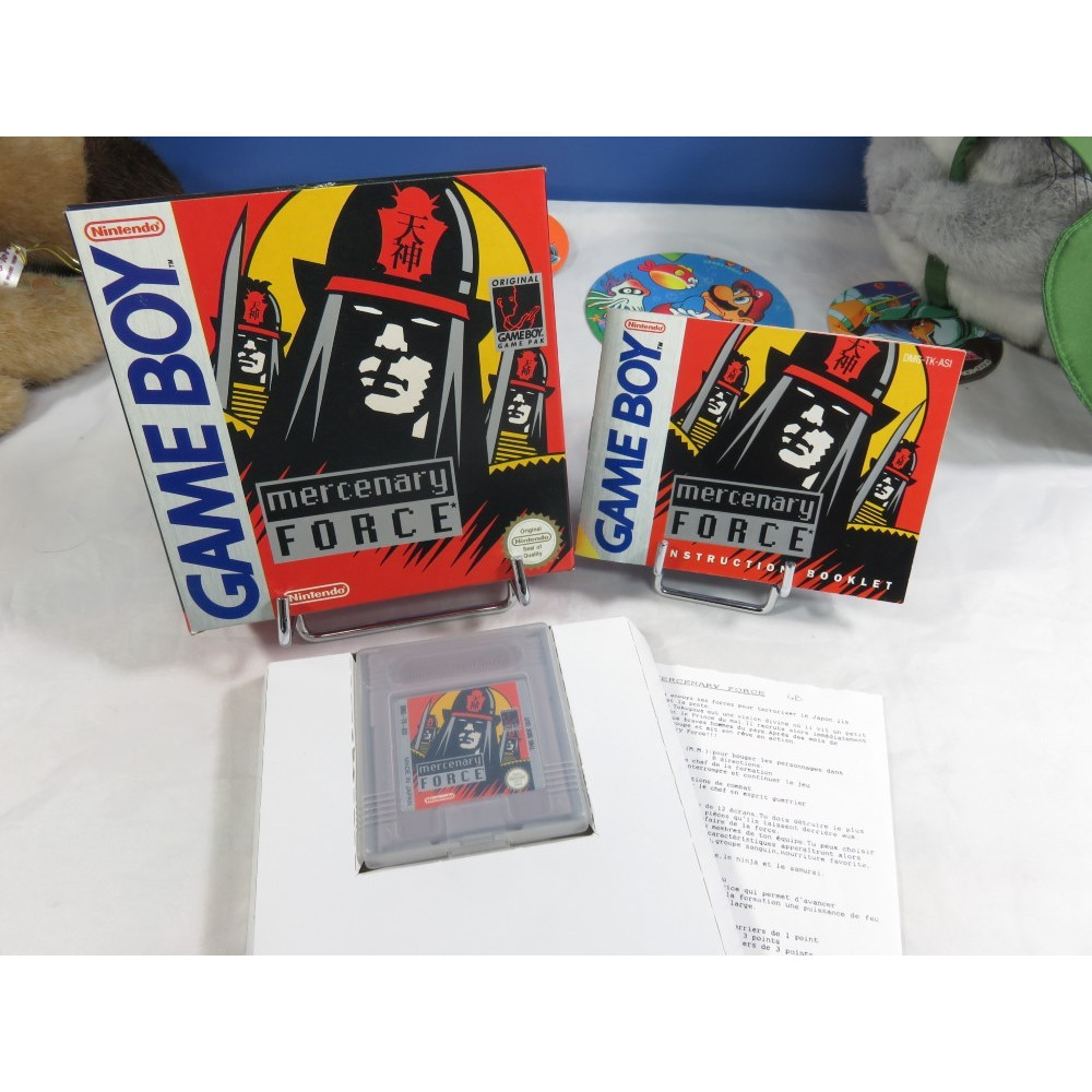 MERCENARY FORCE GAMEBOY ASI OCCASION (NOTICE IMPORT FR)
