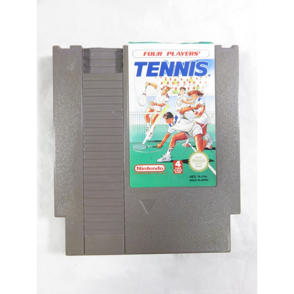 FOUR PLAYERS TENNIS NES PAL FRA LOOSE
