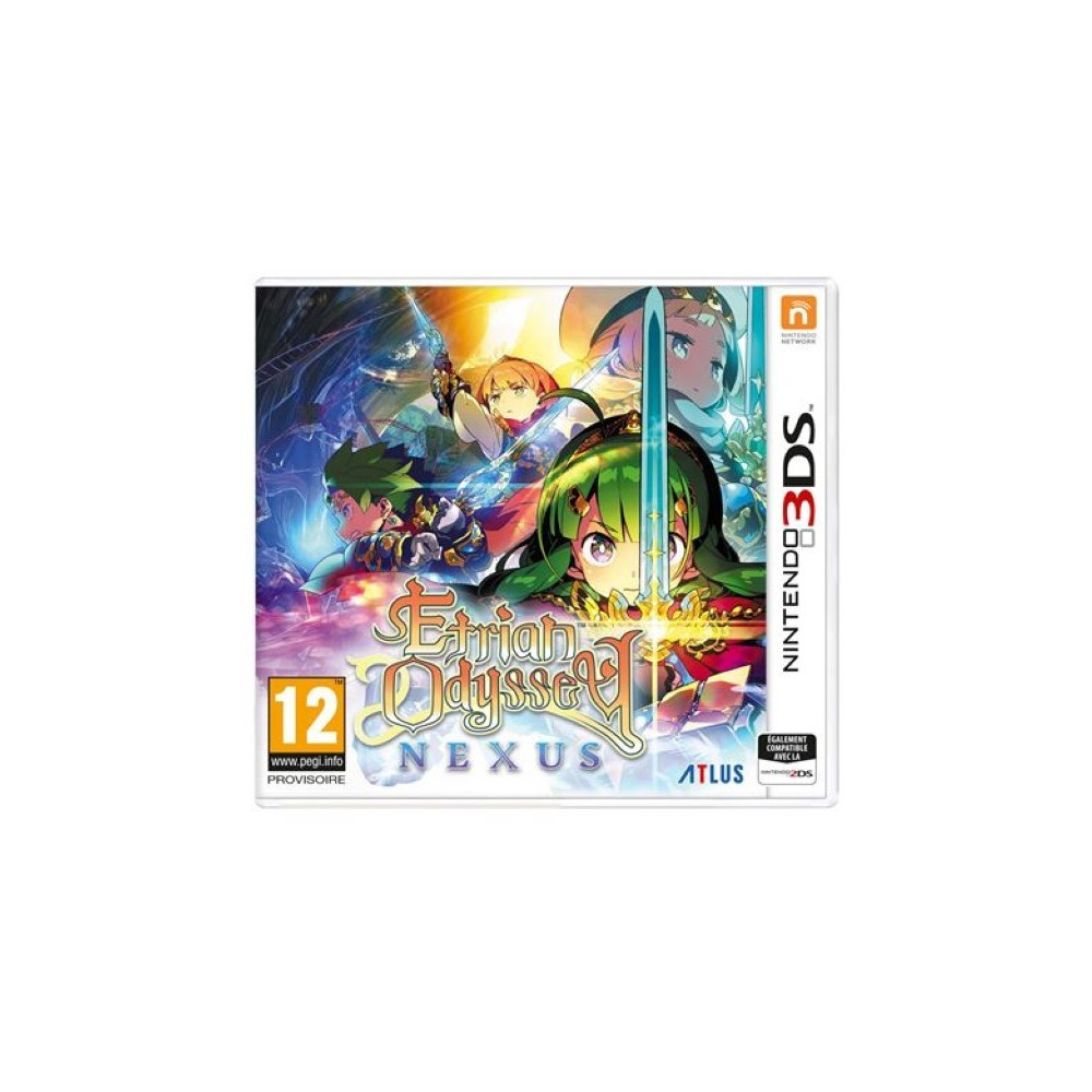 ETRIAN ODYSSEY NEXUS 3DS UK OCCASION