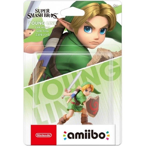 AMIIBO SUPER SMASH BROS YOUNG LINK JAP NEW