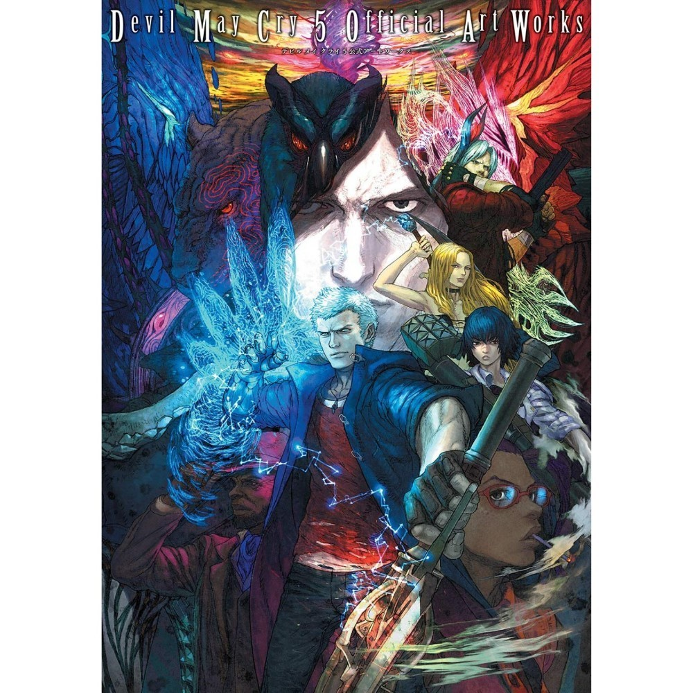 DEVIL MAY CRY 5 OFFICIAL ART WORKS JAP NEW
