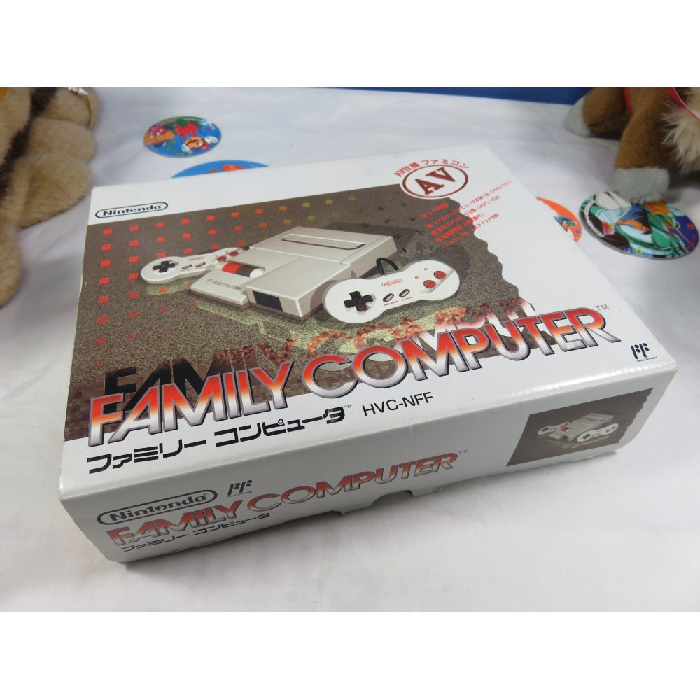 CONSOLE FAMICOM AV MODIFIEE RGB + PALETTES & CABLES NTSC-JPN (MINT)