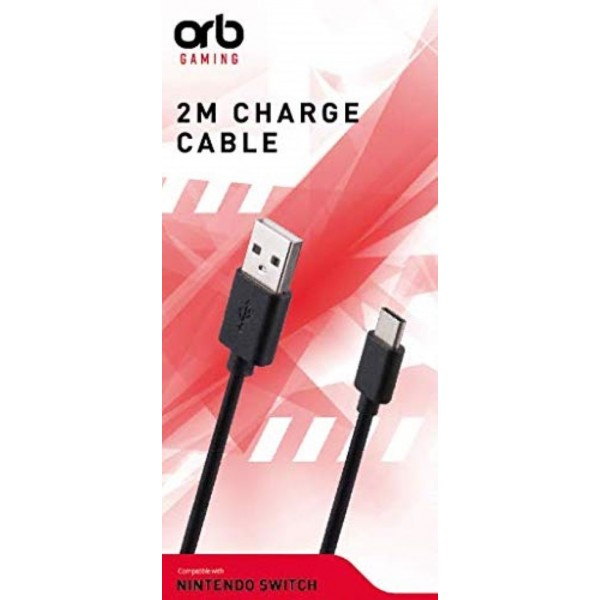 CABLE USB C 2 METRES ORB SWITCH EURO NEW