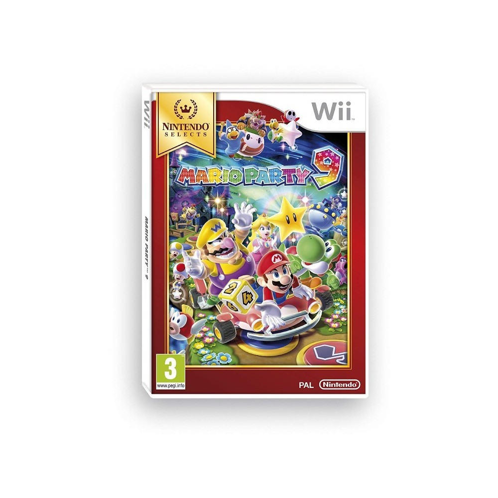 MARIO PARTY 9 NINTENDO SELECT WII UK NEW