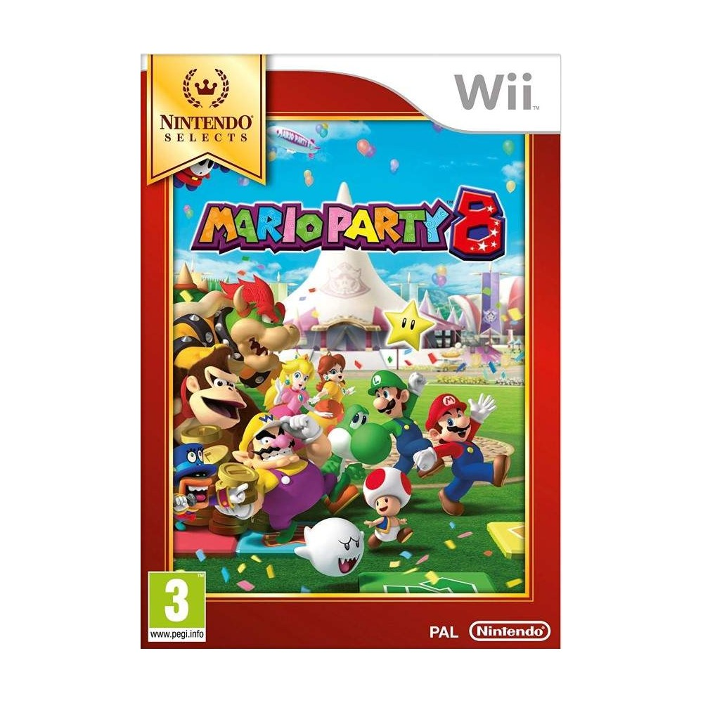 MARIO PARTY 8 NINTENDO SELECT WII UK NEW