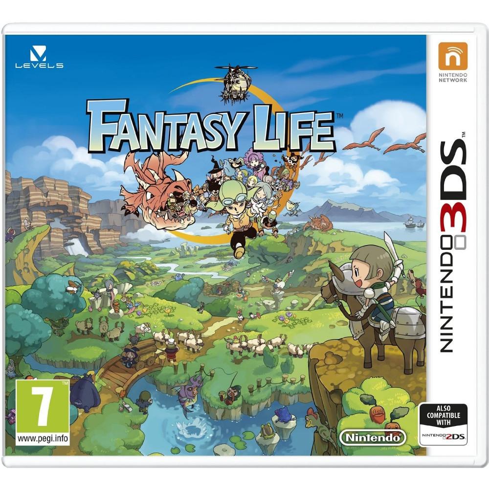FANTASY LIFE 3DS ALLEMAND AVEC TEXTE EN FRANCAIS OCCASION