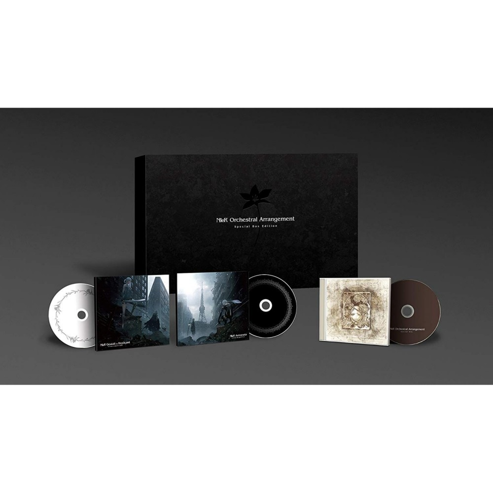 OST NIER ORCHESTRAL ARRANGEMENT SPECIAL BOX COMPLETE EDITION JPN NEW