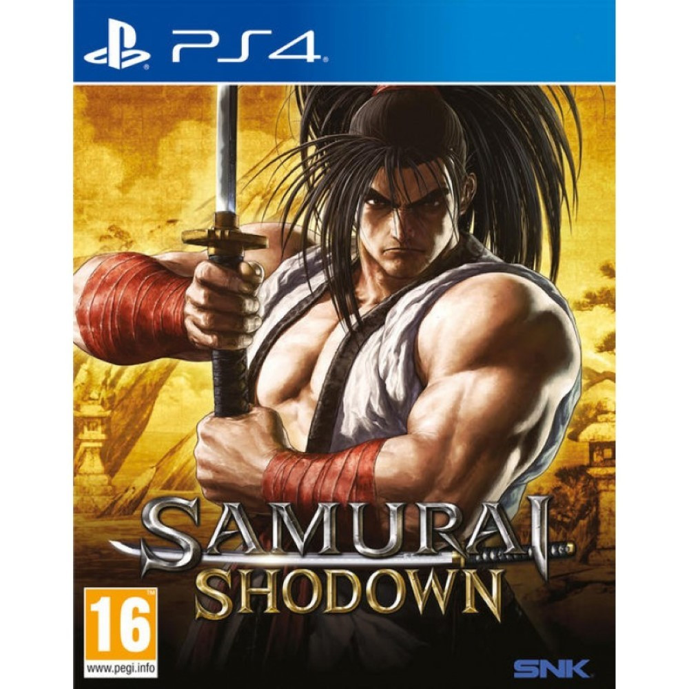 SAMURAI SHODOWN PS4 PAL FR NEW