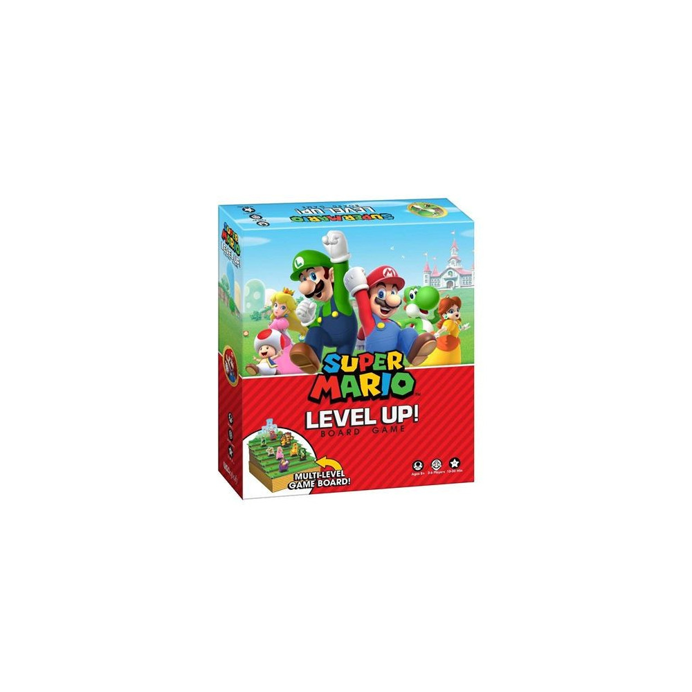SUPER MARIO LEVEL UP BOARD GAME UK NEW