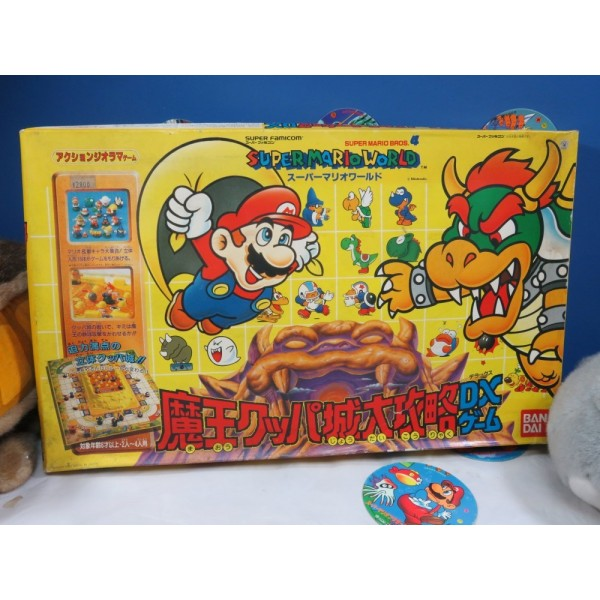 SUPER MARIO WORLD BOARD GAME JPN BANDAI 1991 (COMPLET!)