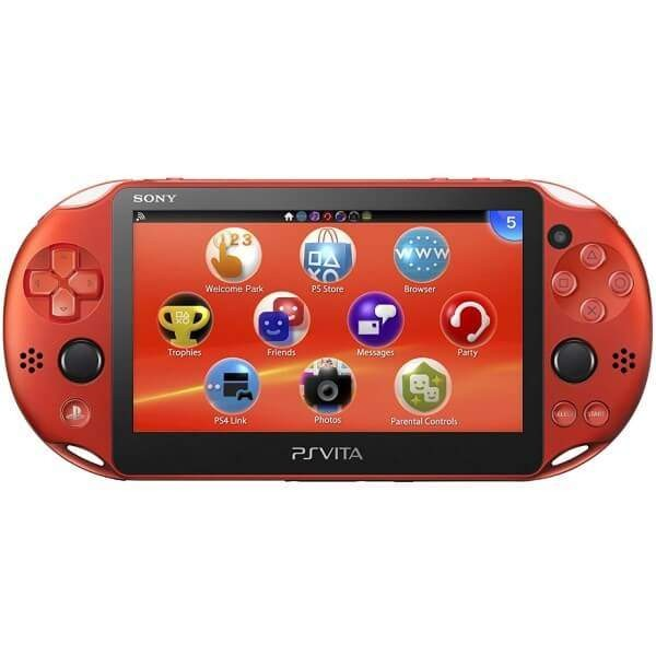 CONSOLE PS VITA WIFI SLIM METALLIC RED JPN OCCASION