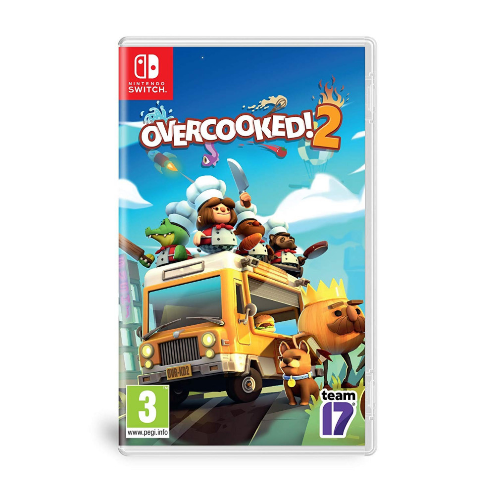 OVERCOOKED! 2 SWITCH UK NEW