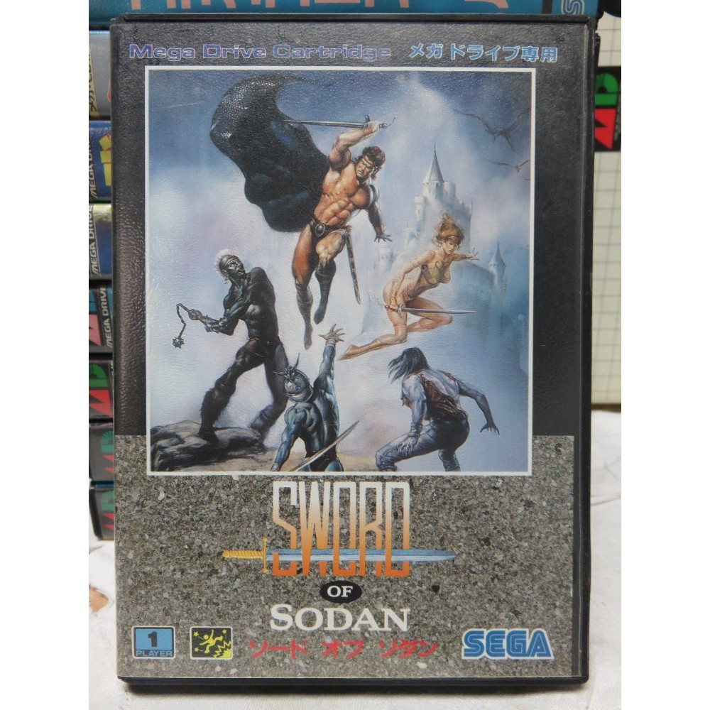 SWORD OF SODAN MEGADRIVE NTSC-JPN OCCASION
