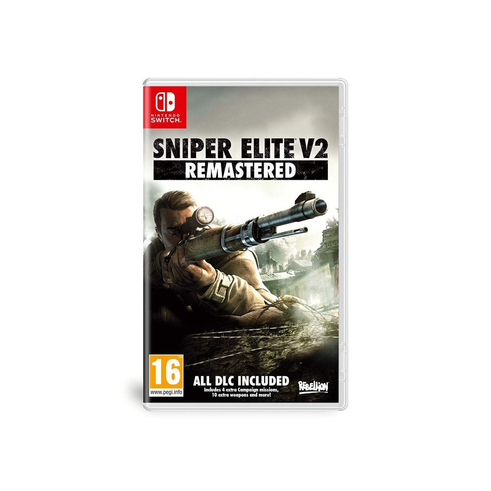 SNIPER ELITE V2 REMASTERED SWITCH UK NEW