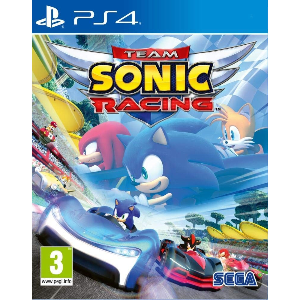 TEAM SONIC RACING PS4 EURO FR NEW