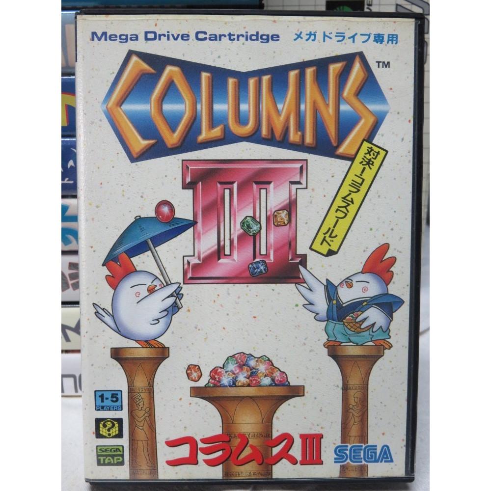 COLUMNS III MEGADRIVE NTSC-JPN OCCASION