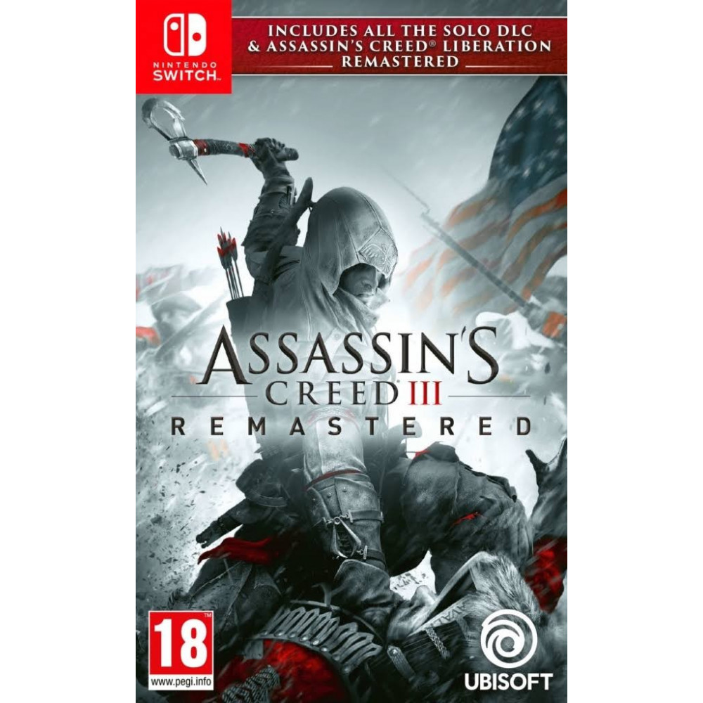 ASSASSIN S CREED 3 REMASTERED SWITCH EURO FR NEW