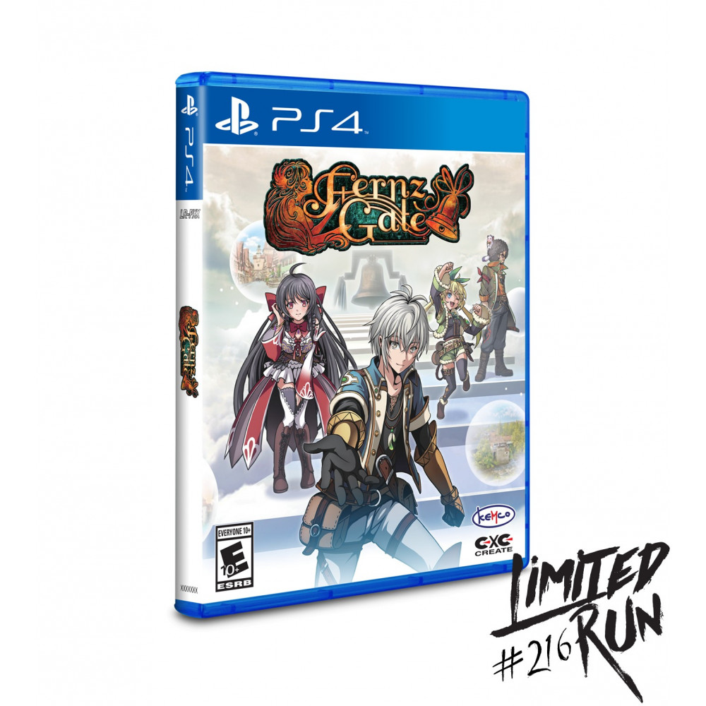 FERNZ GATE PS4 US NEW