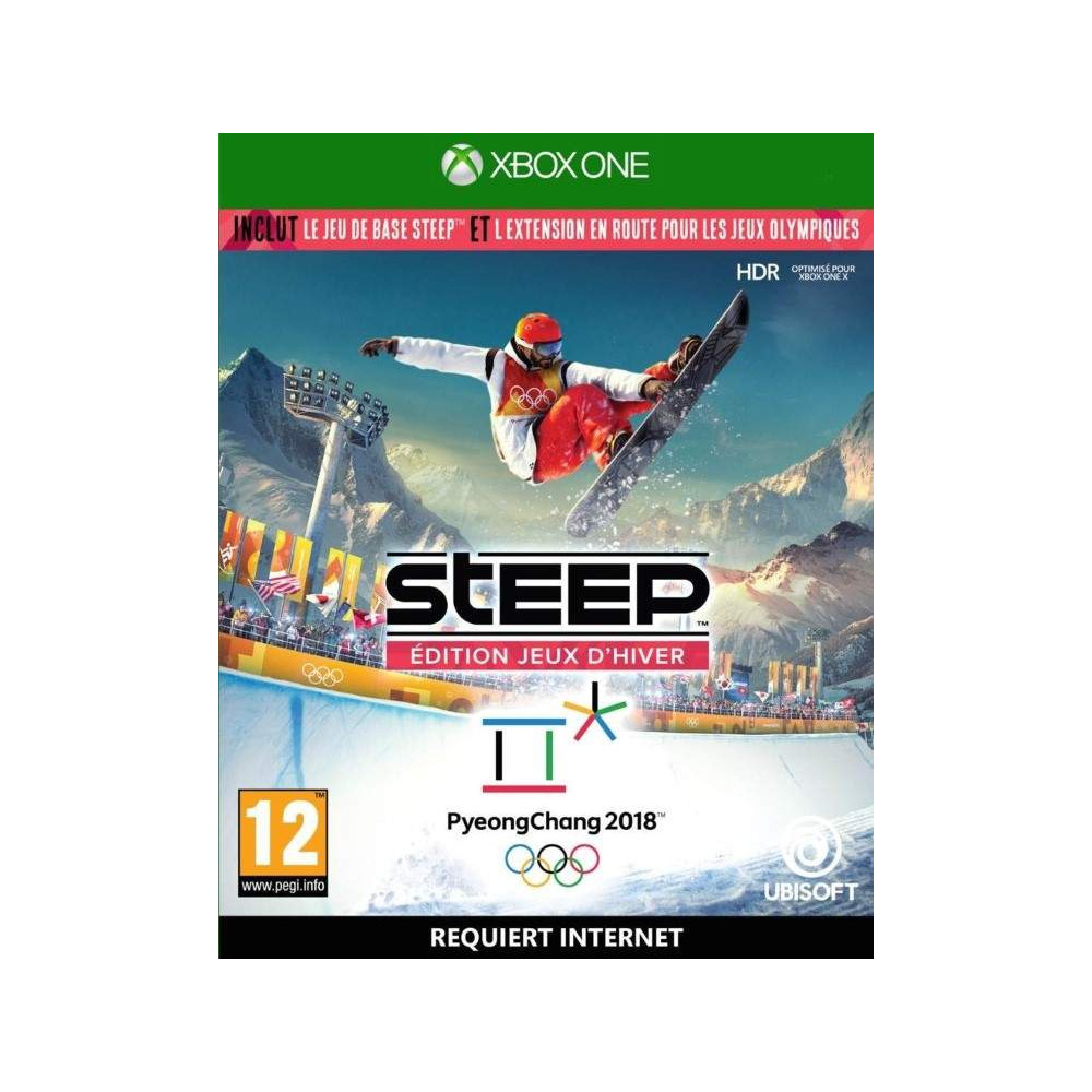 STEEP EDITION JEUX D HIVER PYEONGCHANG 2018 XBOX ONE FR OCCASION