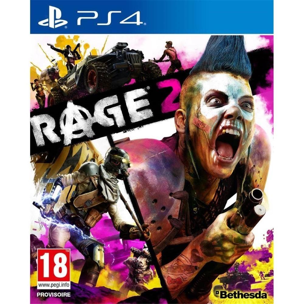 RAGE 2 PS4 ALLEMAND AVEC TEXTE EN FRANCAIS OCCASION