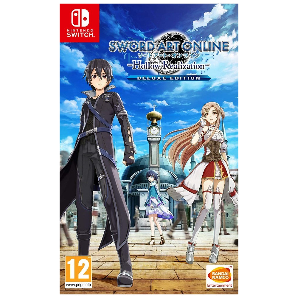 SWORD ART ONLINE HOLLOW REALIZATION DELUXE EDITION SWITCH FR NEW