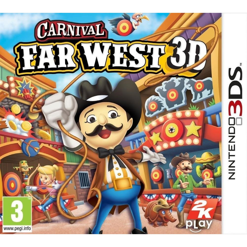CARNIVAL FAR WEST 3DS FRA OCCASION