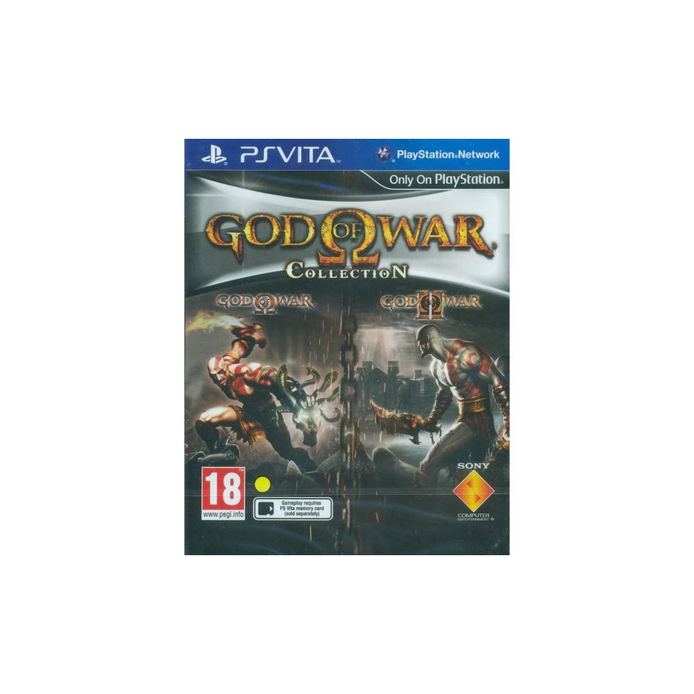 GOD OF WAR COLLECTION PSVITA EURO UK OCCASION