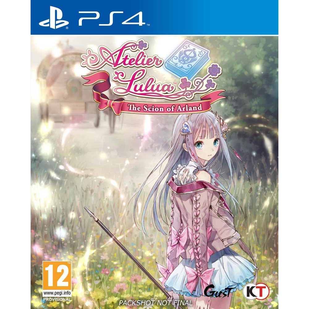 ATELIER LULUA THE SCION OF ARLAND PS4 FR NEW