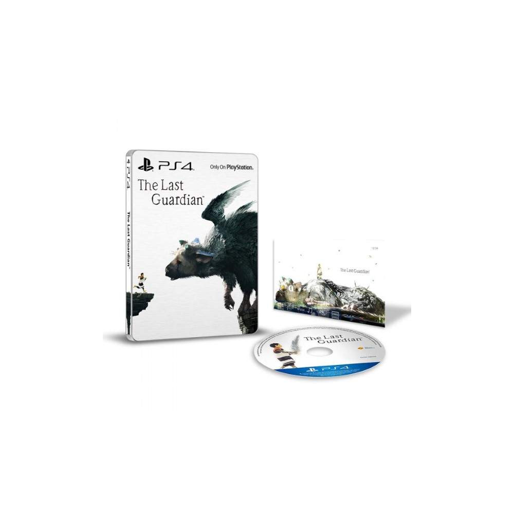 THE LAST GUARDIAN STEELBOOK PS4 ANGLAIS OCCASION