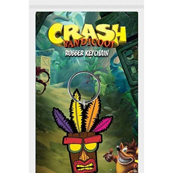 PORTE CLE CRASH BANDICOOT AKU AKU NEW