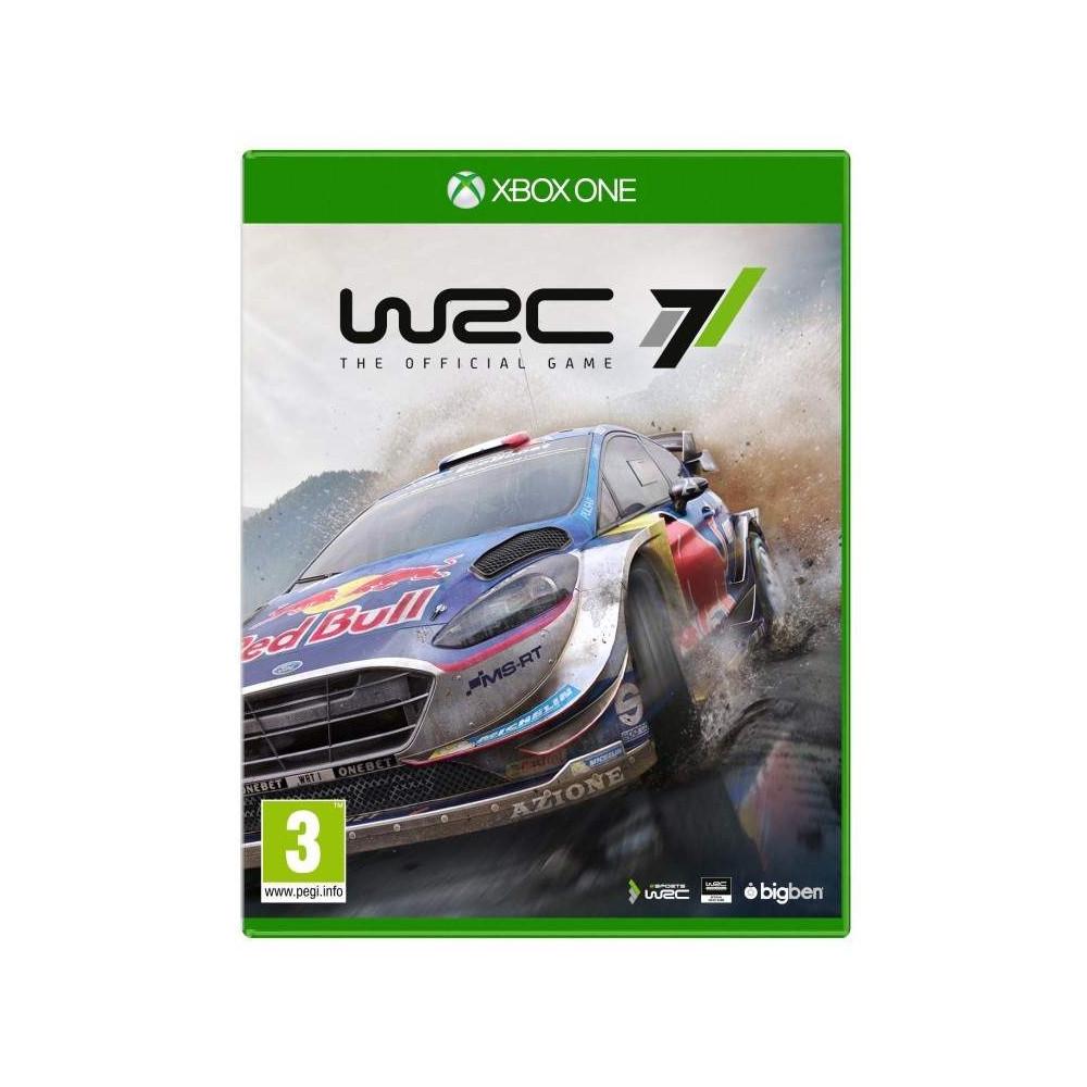 WRC 7 XBOX ONE FR OCCASION