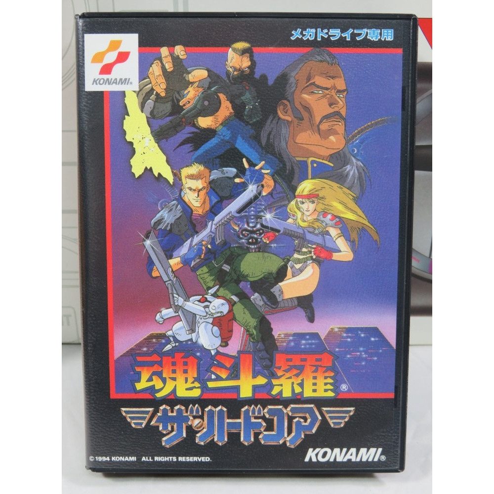 CONTRA THE HARD CORPS MEGADRIVE NTSC-JPN OCCASION