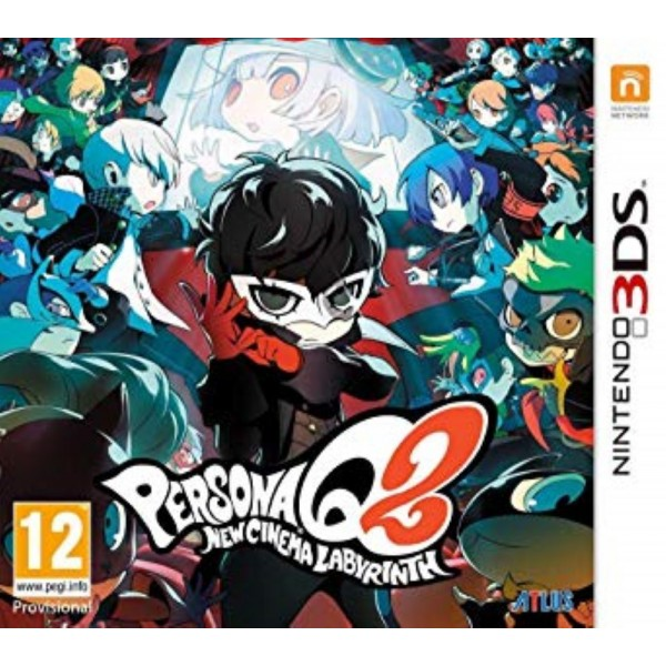 PERSONA Q2 NEW CINEMA 3DS EURO FR NEW